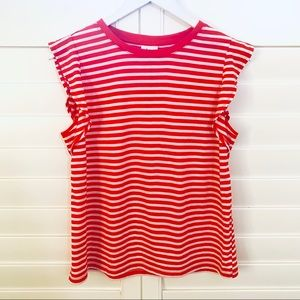 New! Striped Muscle Tee